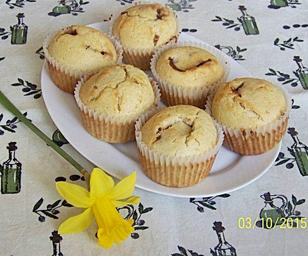 Proste muffiny z marmoladą