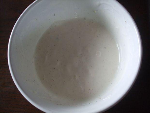 Prosty sos czosnkowy