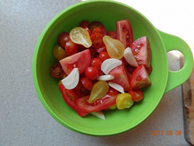 Przecier pomidorowy z czosnkiem