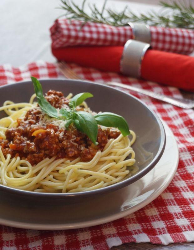 Przepisy na spaghetti bolognese