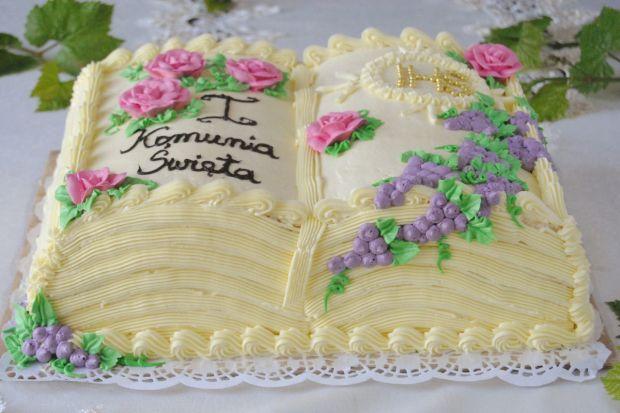 Przepisy na torty pierwszokomunijne