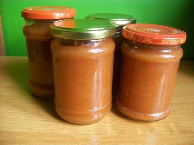 Przetwory - keczup z cukinii