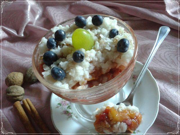 Przysmak ryżowo- śliwkowy
