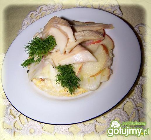 Pstrąg z piekarnika na waflu Good Food