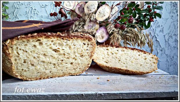 Pszenny chleb na owsiance