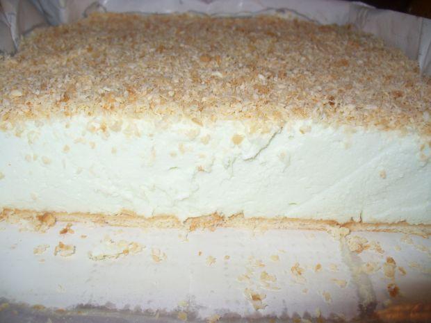 Puch śnieżny - ciasto