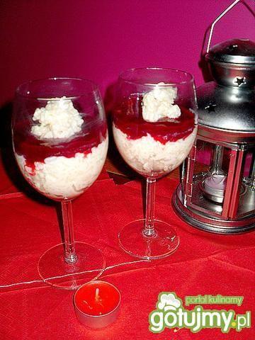 Pudding ryżowy z dodatkami