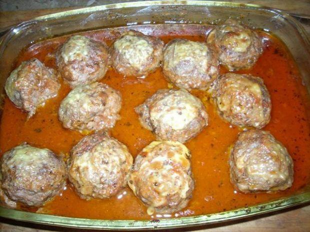 Pulpeciki w sosie śmietanowo-pomidorowym