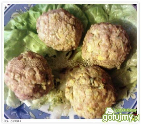 Pulpety (kulki) drobiowo- warzywne, diet