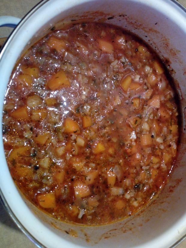 Pulpety w sosie pomidorowo-jarzynowym