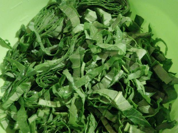 Pulpety w sosie śmietankowo-szpinakowym