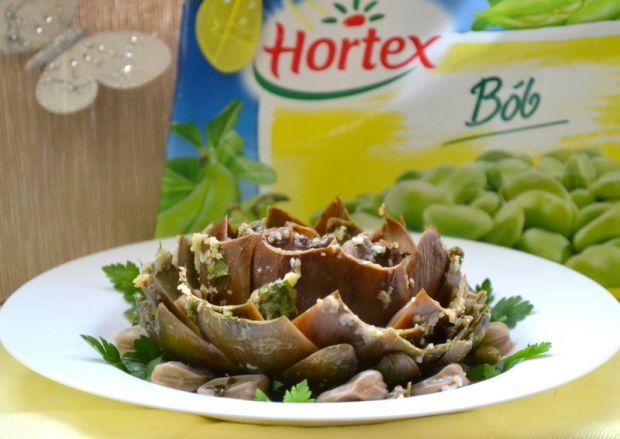 Punjeni artichoke czyli faszerowane karczochy