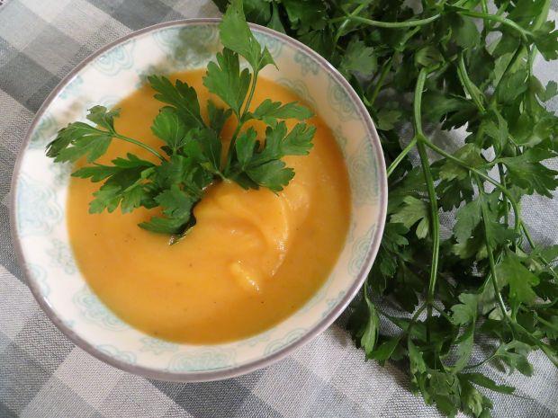 Zupa krem marchewkowa z Chianti
