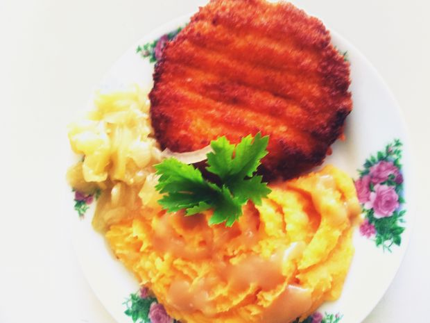 Puree z batata i ziemniaków