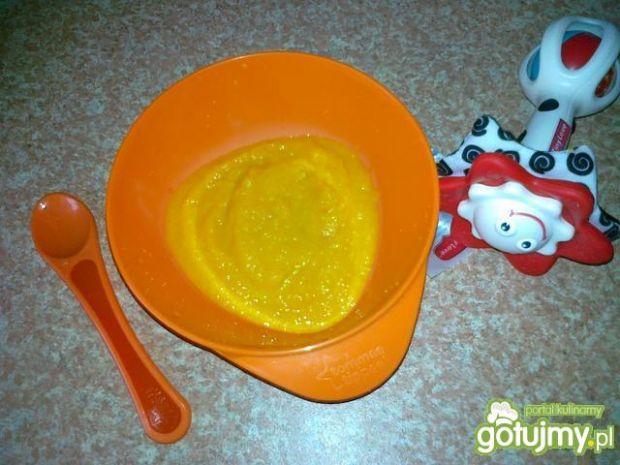 Puree z marchewki dla niemowlaka