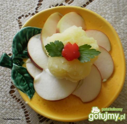 Puree ziemniaczano – jabłkowe :