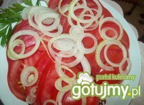 Pyszna i szybka sałatka z pomidorów