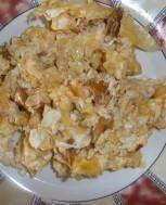 pyszna jajecznica z kurkami