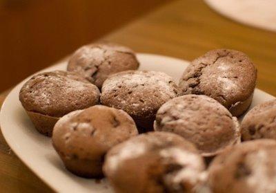 pyszne babeczki czekoladowe