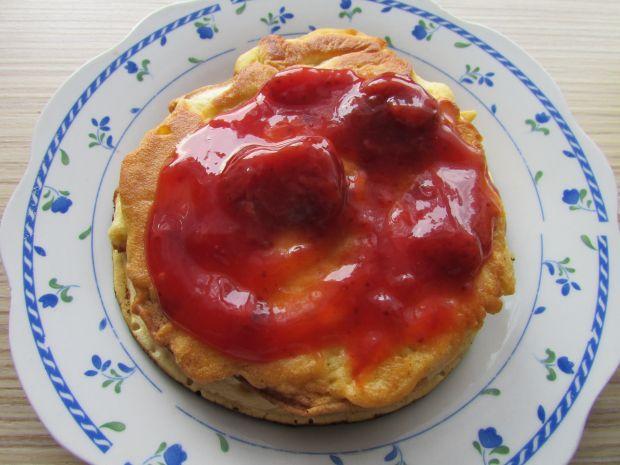 Pyszny mini tort z omletów