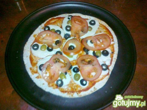 Quesadilla wegetariańska z mozzarellą