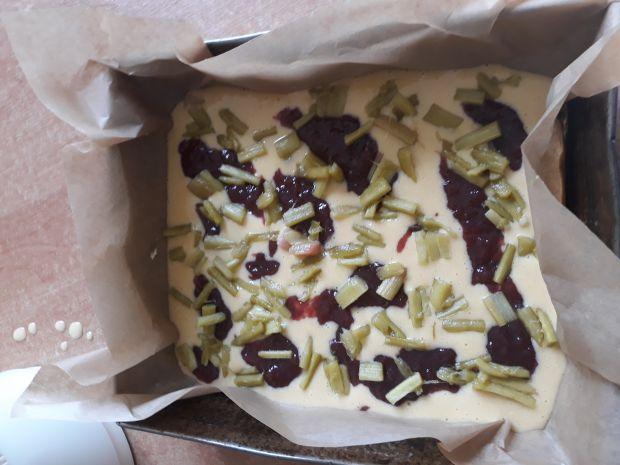 Rabarbarka ciasto mieszane