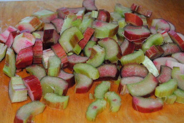 Rabarbarowo- truskawkowy sorbet