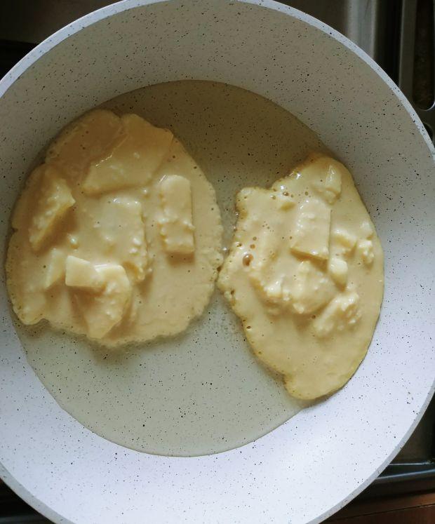 Racuchy jabłkowo-kokosowe