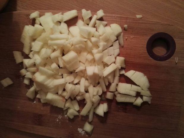 Racuchy z jabłkami z dodatkiem płatków owsianych