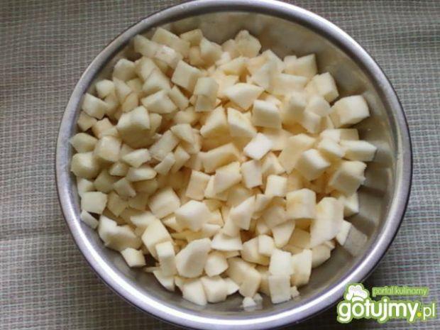 Racuszki z jabłkami i gruszkami