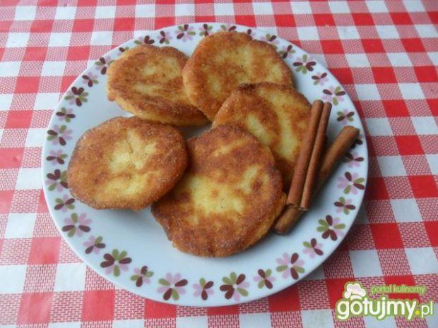Racuszki ziemniaczane z jabłkami