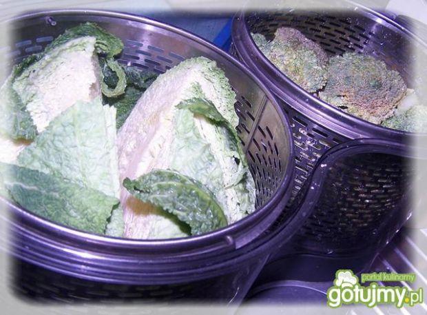 Razowe buchty z warzywami