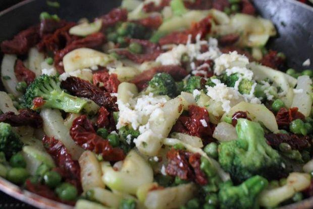 Rigatoni z warzywami