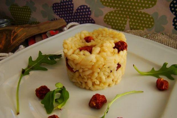 Risotto z jagodami inków