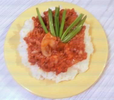 Risotto z mięsem
