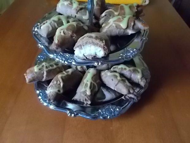 Rogaliki z masą kokosową