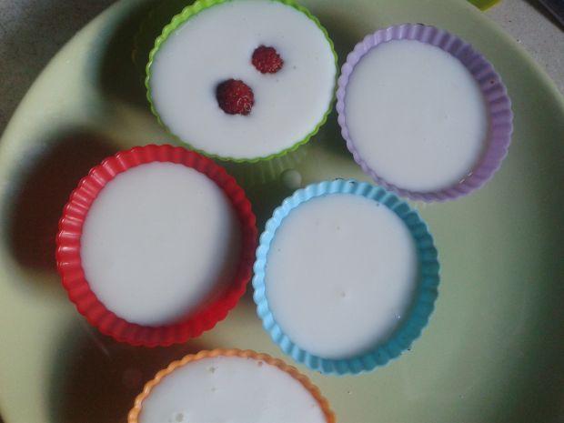 Rolada biszkoptowa z jogurtowymi babeczkami