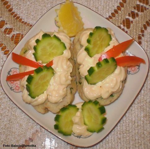 Rolada rybna z majonezem