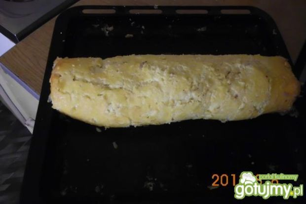 Rolada serowa z pieczarkami 3