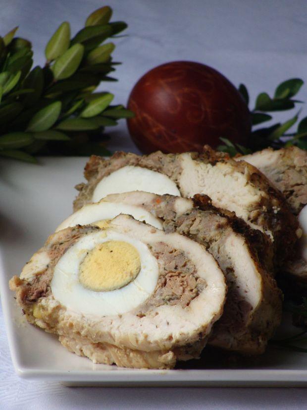 Rolada z jajkiem