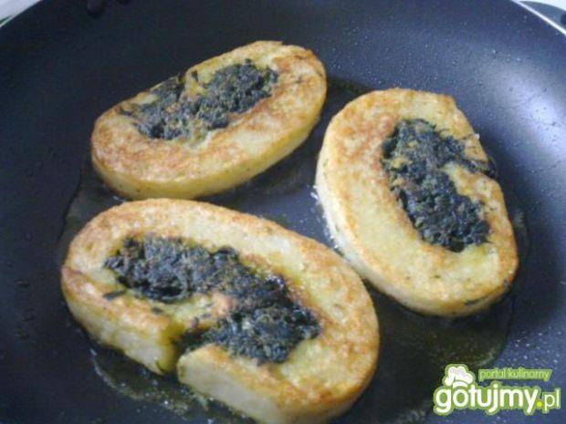 Rolada ziemniaczano-szpinakowa