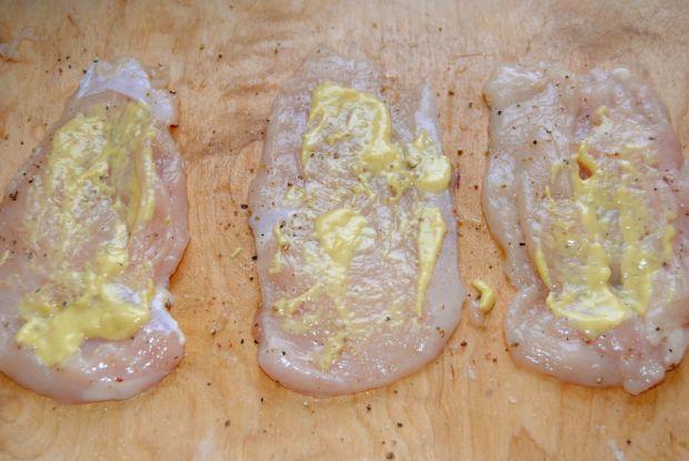 Roladki z fasolką i śmietankowym sosem