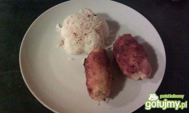 Roladki z kurczaka na ostro