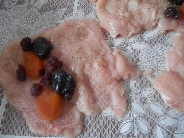 Roladki z kurczaka w galarecie
