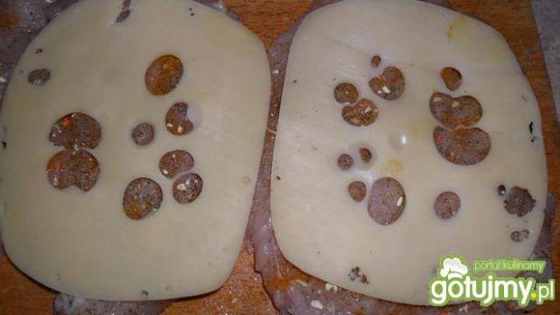 Roladki z kurczaka z serem na parze