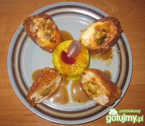 Roladki z kurczaka z szynką parmeńską