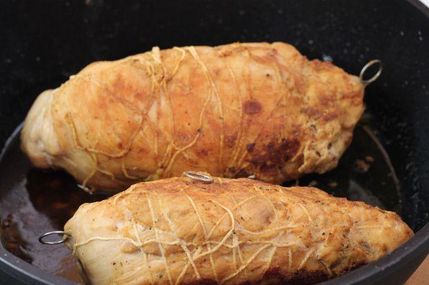 Roladki z mieszanką warzyw
