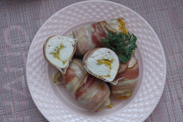 Roladki z piersi kurczaka z dynią