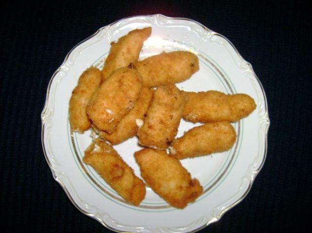 Roladki z piersi kurczaka z serem..