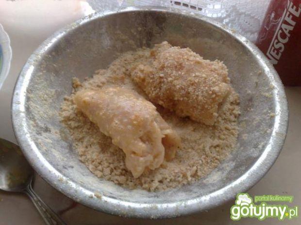 Roladki z piersi z kurczaka